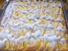 Geheime Rezepte: Apfelkuchen (auf dem Blech, schnell zubereitet)