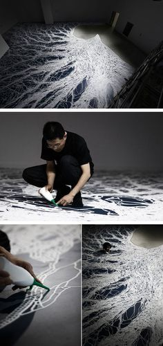 Return to the Sea: Saltworks by Motoi Yamamoto / http://www.yatzer.com/return-to-the-sea-motoi-yamamoto