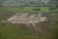 Little Rock, Ark., Monday, April 28, 2014. A tornado struck the central Arkansas town Sunday.