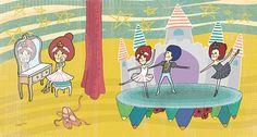 天鵝湖  #illustration #daylilyart #插畫 #玳力力