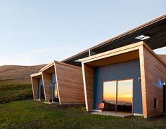 Компактные дома для сезонной работы художников в Калифорнии (17 фото)