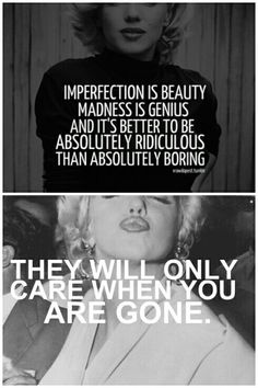 Marilyn Monroe quotes Truth Hurts, It Hurts, Marilyn Monroe Tattoo, Marilyn Moroe, Boss Bitch Quotes, Marilyn Monroe Quotes, Imperfection Is Beauty, 50 And Fabulous, Words Worth