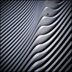 ripple Wave design by ~katpi - Wave design in architecture Architecture Details, Modern Architecture, Le Manoosh, Prusa I3, Fractal, Parametric Design, 3d Prints, Texture Design, Detail Design