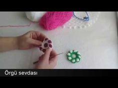 Puf Çiçeği Yapımı - YouTube