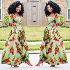 50+ melhores vestidos de impressão africana | Procurando os melhores e mais recentes vestidos de impressão africana? Da cera holandesa de ankara, Kente, até Kitenge e Dashiki. Todos os seus estilos favoritos em um lugar (+ descobrir onde obtê-los). Clique para ver tudo!