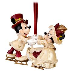 Minnie and Mickey Mouse Ornament  $22.95