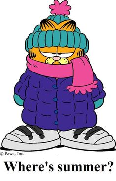 :) Garfield humor about winter season Garfield Pictures, Garfield Quotes, Garfield Cartoon, Garfield And Odie, Garfield Comics, Princesas Disney Dark, Garfield Wallpaper, Comic Cat, I Love Winter