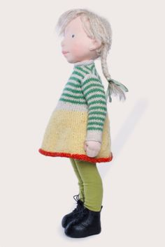 Eliza Handmade cloth doll partial payment от AldegondeCeelen
