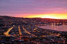 Atardecer Valparaiso-Chile