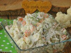Tavuklu Karnabahar Salatası Resmi