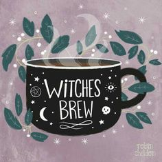 Sheldon Illustration Witches Brew - Robin Sheldon {illustration & design} Been in a witchy mood lately. Is it October yet?Witches Brew - Robin Sheldon {illustration & design} Been in a witchy mood lately. Is it October yet? Inspiration Art, Art Inspo, Illustrations, Illustration Art, Halloween Illustration, Coffee Illustration, Halloween Playlist, Creation Art, Drawn Art