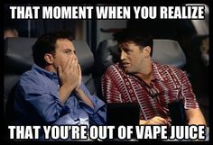 We have all experienced this: You go to fill up your tank only to realize that the bottle you just grabbed is empty. It's a terrible situation, but here at Vape Invaders we got you covered. We have over 100 flavours for you!  #vapememe #ejuice #eliquid #vapeinvaders #teamvapeinvaders #vapelife #vapenation #vapefam #vaping #vape #vapers #dailyvape #gtavapers #mississauga #brampton #toronto