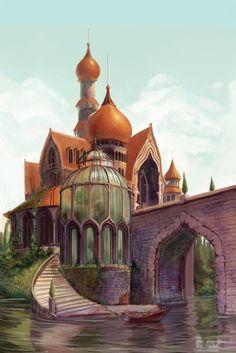 The Beasts Castle by ~kelseymichele