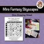 Using this dice drawing sheet, students will create a surrealistic skyscape in the style of Joan Miro.  Use this dice drawing sheet as a follow up ...