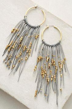 Lavina Hoop Earrings | Anthropologie