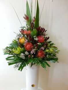 Australian Native Arrangement. Tall.Elegant. Long lasting. Ideal for all occasions