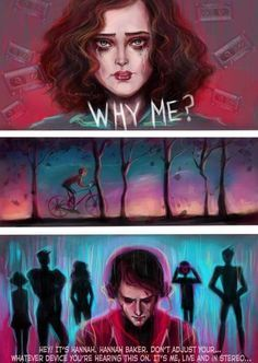 """Hey, Its Hannah. Hannah Baker."" 