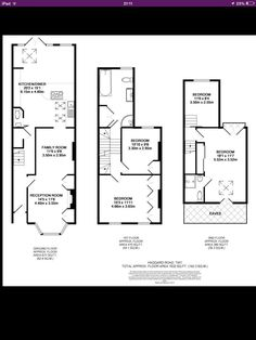 L shaped loft conversion plans edwardian terrace Victorian Terrace House, Victorian Townhouse, Edwardian House, Victorian Homes, Modern Victorian, Loft Conversion Layout, Loft Conversion Bedroom, Loft Conversion Victorian Semi, Loft Conversions
