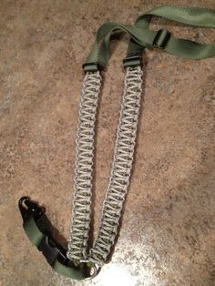 Single Point Paracord Rifle Sling