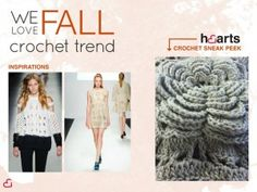 Crochet is in for Fall!