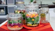 healthy salad in a jar - Pesquisa do Google