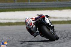 Stefan Bradl, LCR Honda, MotoGP test at Sepang 28 February 2012