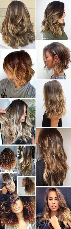 Ideas for hair goals curly makeup Cabelo Ombre Hair, Balayage Hair, Ombré Hair, Hair Dos, Corte Y Color, Super Hair, How To Make Hair, Pretty Hairstyles, Casual Hairstyles