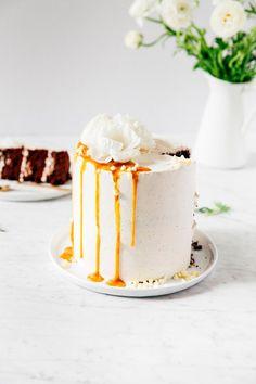 chocolate and earl grey london fog layer cake - hummingbird high || a desserts and baking blog