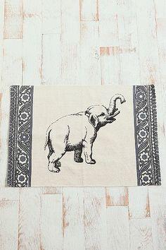 2x3 Elephant Rug