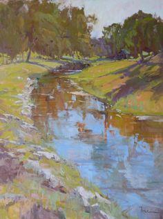 "Lori Putnam | ""Cooling Off Spot""  -  beautiful landscape!"