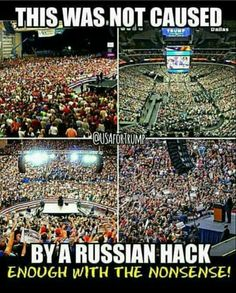 This was not caused by a Russian hack!