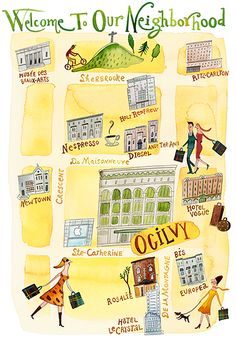 Welcome to our neighborhood - Ogilvy High Fashion store