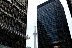 Toronto Financial District (Mark A. Cadiz, Skyscraper, Toronto, Street, Building, Skyscrapers, Buildings, Roads, Construction