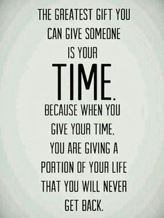 Is Your Time