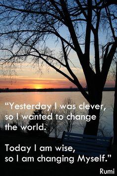 ♥So I am changing myself