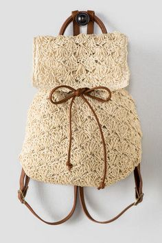 Claudia Crochet Backpack