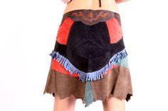 Festival cuero falda, Pixie, Tribal trajes fiesta falda, estilo gitano de fairyland6 en Etsy https://www.etsy.com/es/listing/256060178/festival-cuero-falda-pixie-tribal-trajes