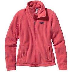 Patagonia Womens Micro D Jacket. Ginger Berry