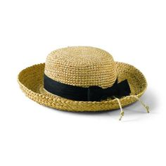 San Diego Hat Co Kids' Raffia Hat with Ribbon