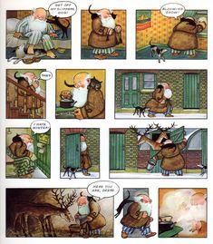 Michael Sporn Animation – Splog » Raymond Briggs' Father Christmas