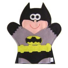 Batman hand puppet