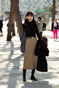 Seoul Fashion, Tokyo Street Fashion, Japanese Street Fashion, Fashion Week, Fashion Outfits, Japanese Winter Fashion, Paris Fashion, Asian Street Style, Street Style Women