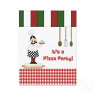 Italian Dinner Party:  Clip art and advice on how to plan