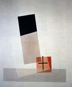 László Moholy-Nagy, Composition Q VIII, 1922.