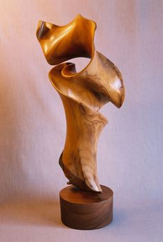 Wood sculpture by John McAbery