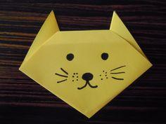 ORIGAMI GATTINO: TUTORIAL  http://creandosicrescecrescendosicrea.tumblr.com/post/30024715417/origamigattino