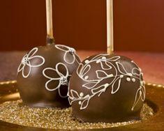 Floral Fantasy Decadent Chocolate Apples-Apple of my eye- teacher appreciation