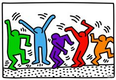 It was great fun to color this picture online. Do you want to try? Pictures Online, Keith Haring, Coloring, Fun, Funny, Hilarious