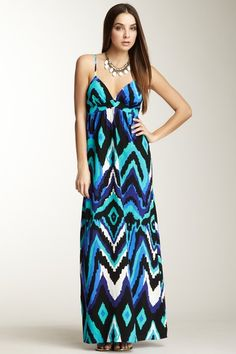 Alice & Trixie Tiffany Silk Maxi Dress by The Ultimate Dress Shop on @HauteLook