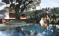 Descubrimiento de la semana 40: Impresionante casa con piscina en Río de Janeiro, Brazil. #pool #piscina #outdoorpool #piscinadeensueño #incrediblepool